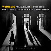 Weinberg: Piano Quintet, Piano Sonatina & Cello Sonata No. 2 by Various Artists