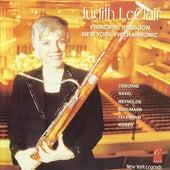 Judith LeClair plays Schumann, Osbourne, Telemann, Reynolds, Weber and Ravel by Judith LeClair