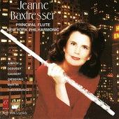 Jeanne Baxtresser plays Taktakishvili, Martin, Gieseking, Gaubert, Amirov and Debussy by Jeanne Baxtresser