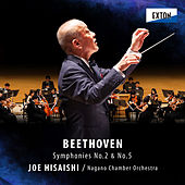 Beethoven: Symphony No. 2 & No. 5 by 久石 譲
