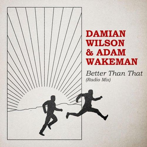 Better Than That (Radio Mix) de Damian Wilson