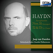 Haydn Vol. II: Symphonies No. 31 ''Hornsignal'', No. 72 & No. 73''La Chasse'' de Jaap van Zweden