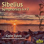 Sibelius: Symphonies Nos. 4 & 7 - Sir Colin Davis, LSO von Sir Colin Davis