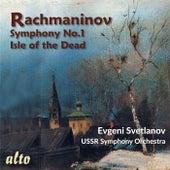 Rachmaninov: Symphony No. 1; Isle of the Dead – Evgeny Svetlanov, USSR Symphony Orchestra de Evgeny Svetlanov