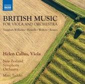 British Music for Viola Concertos by Helen Callus
