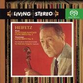 Bruch: Violin Concerto No. 1; Scottish Fantasy & Vieuxtemps: Violin Concerto No. 5 by Jascha Heifetz
