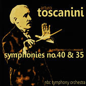 Mozart: Symphonies No. 40 and 35 by NBC Symphony Orchestra