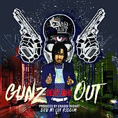 Gunz Out (Feat. Deep Jahi) - Single by KraiGGi BaDArT