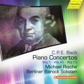 C.P.E. Bach: Piano Concertos, Vol. 5 von Michael Rische