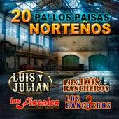 20 Pa' Los Paisas Nortenos de Various Artists