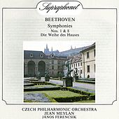 Beethoven: Symphonies Nos. 1& 8, Die Weihe des Hauses by Czech Philharmonic Orchestra