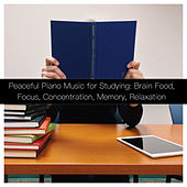 Peaceful Piano Music for Studying: Brain Food, Focus, Concentration, Memory, Relaxation van Various