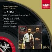 Brahms : Violin Concerto in D/Violin Sonata No.3 in D minor by David Oistrakh