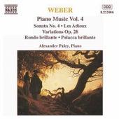 Piano Music Vol. 4 by Carl Maria von Weber