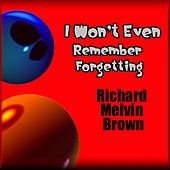 I Won't Even Remember Forgetting by Richard Melvin Brown