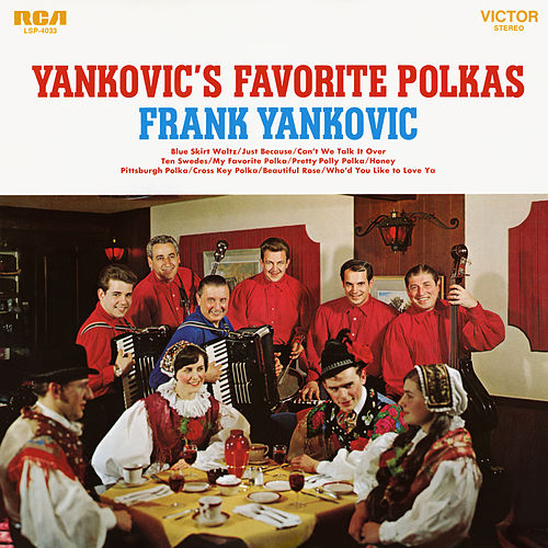 Yankovic's Favorite Polkas by Frank Yankovic