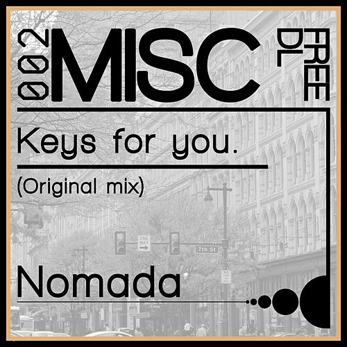 Keys For You (Instrumental Mix) de Nomada