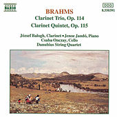 Clarinet Trio and Quintet by Johannes Brahms