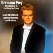 Songs Of Schubert,Strauss,Schumann and Brahms de Hermann Prey