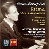 Piano Masterpieces: Arturo Benedetti Michelangeli – Recital, Warszaw-London de Arturo Benedetti Michelangeli