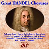 Great Handel Choruses by Various Artists
