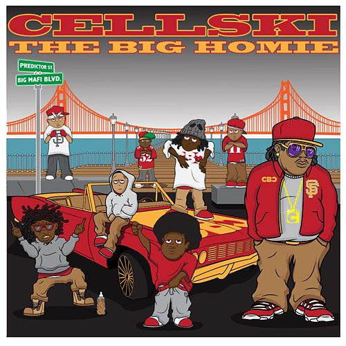 The Big Homie - EP by Cellski