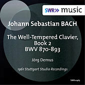 Bach: The Well-Tempered Clavier, Book 2 by Jörg Demus