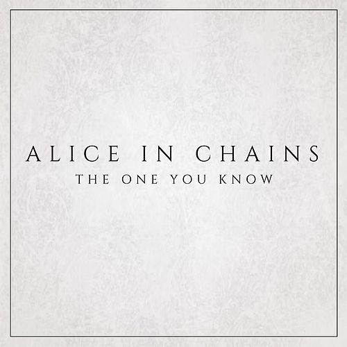 The One You Know by Alice in Chains