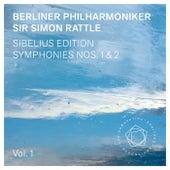 Jean Sibelius: Symphonies Nos. 1 & 2 by Berliner Philharmoniker