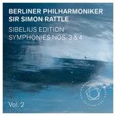 Jean Sibelius: Symphonies Nos. 3 & 4 von Berliner Philharmoniker