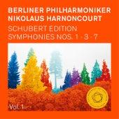 Nikolaus Harnoncourt: Schubert Symphonies Nos. 1,3 & 7 (Unfinished) von Berliner Philharmoniker