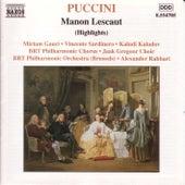 Manon Lescaut (Highlights) de Giacomo Puccini