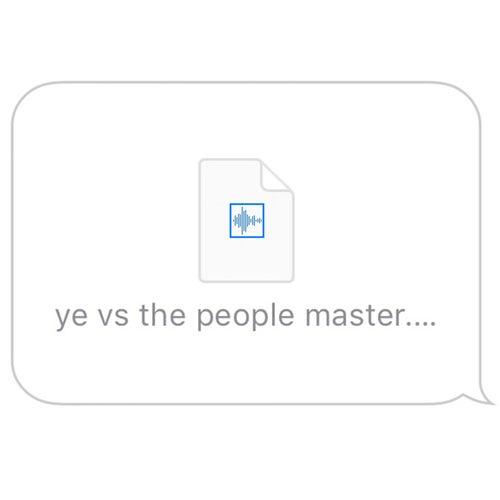 Ye Vs The People von Kanye West