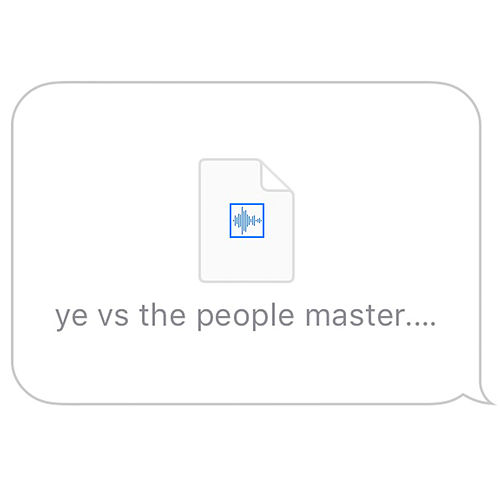 Ye Vs The People by Kanye West