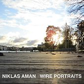 Wire Portraits by Niklas Aman