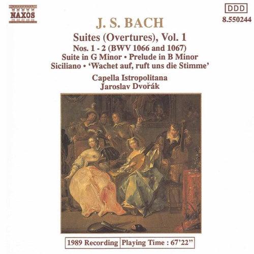 Suites (Overtures) Vol. 1 by Johann Sebastian Bach