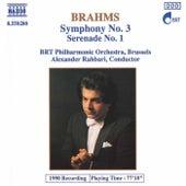 Symphony No. 3 / Serenade No. 1 de Johannes Brahms