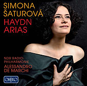 Haydn: Arias von Simona Houda Šaturová