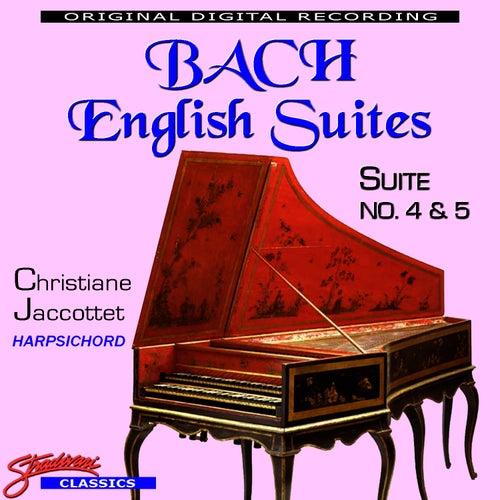 Bach English Suites No. 4 & 5 by Johann Sebastian Bach