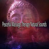 Peaceful Massage Therapy Natural Sounds von Massage Therapy Music
