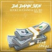Blue Strips by Da Damn Sen