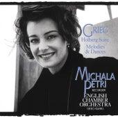 Grieg: Holberg's Time and Melodies & Dances de Michala Petri