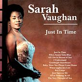 Just in Time von Sarah Vaughan