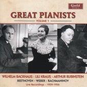 Great Pianists - Vol. 1 von Wilhelm Backhouse