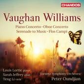 Vaughan Williams: Piano Concerto, Oboe Concerto, Serenade to Music & Flos Campi von Various Artists