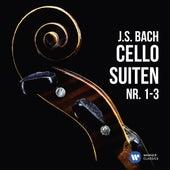 J.S. Bach: Cellosuiten Nr. 1-3 de Heinrich Schiff