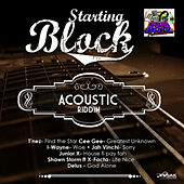 Starting Block Acoustic Riddim de Various Artists