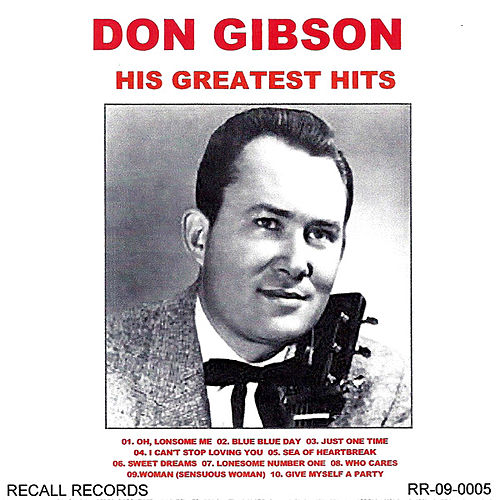 His Greatest Hits by Don Gibson