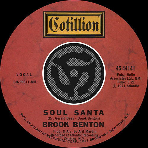 Soul Santa / Let Us All Get Together With The Lord [Digital 45] by Brook Benton