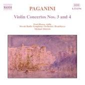 Violin Concertos Nos. 3 and 4 by Nicolo Paganini